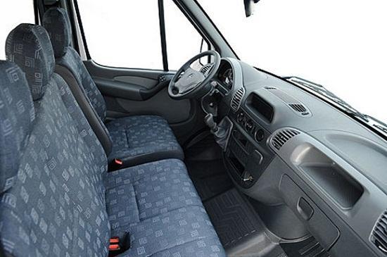 Interior de van