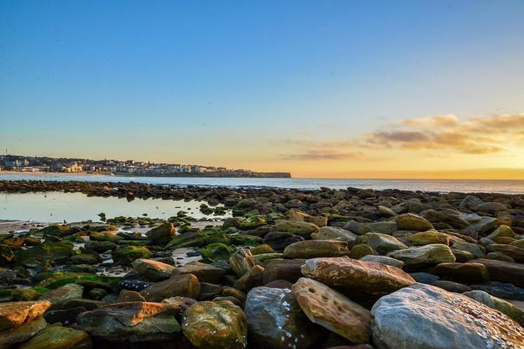 Pedras da praia de Balmoral