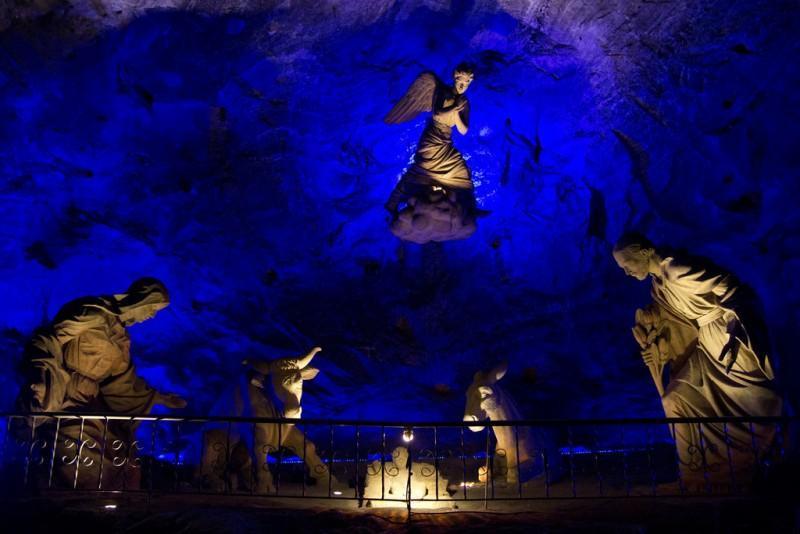 Interior da Catedral de Sal de Zipaquirá