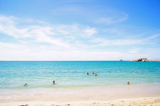 praia-em-puerto-la-cruz