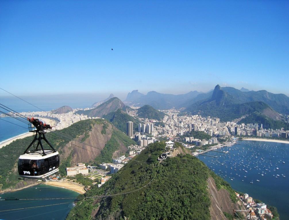 Viajando de carro pelo Rio de Janeiro
