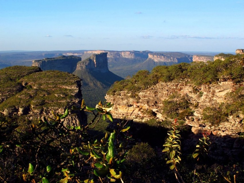 Via do alto da Chapada Diamantina
