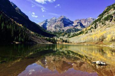 Viajando pelo Colorado durante o verão