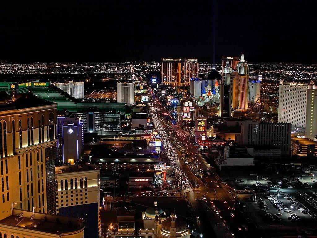 Viagem de carro por Las Vegas