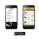 Aplicativo de aluguel de carros para Android