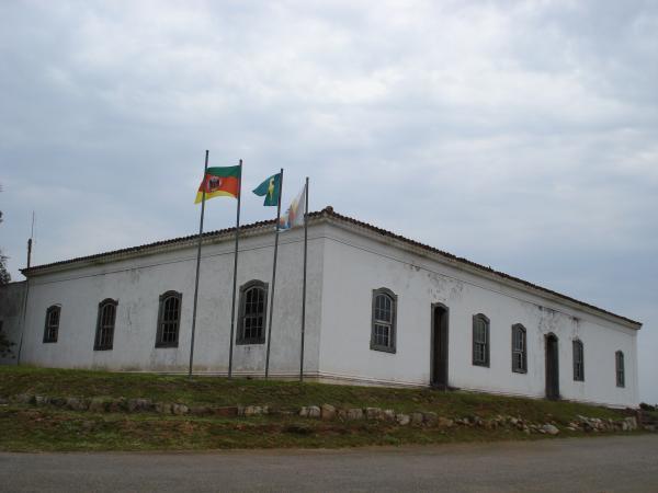 Fachada do Parque Histórico General Bento Gonçalves