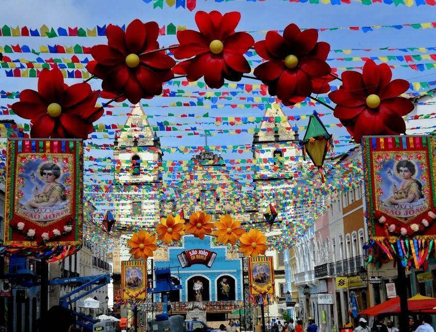Festa de São João no Pelourinho Salvador