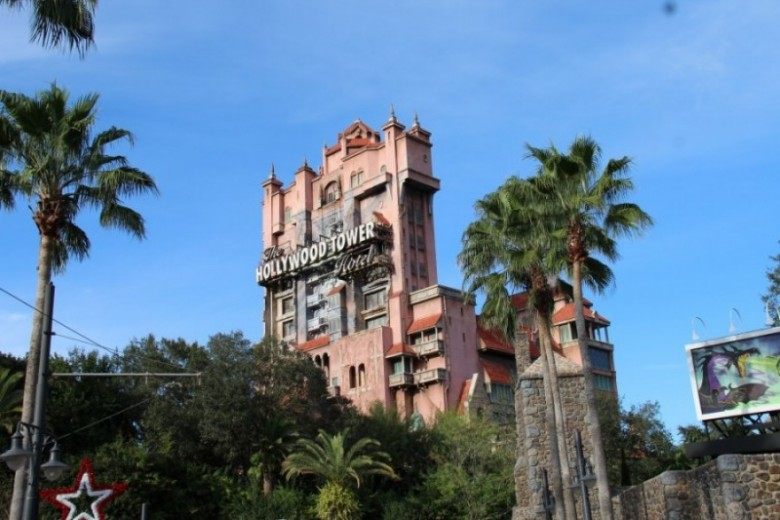 Tower of Terror no parque Hollywood Studios no Walt Disney World