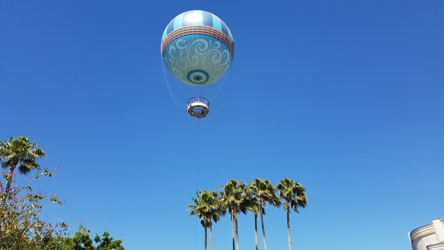 Balão Aerophile (Characters in Flight), no Disney Springs