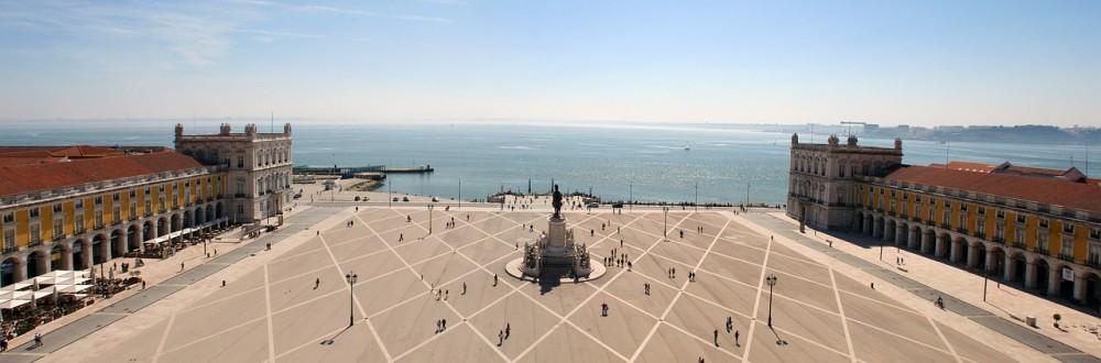 Alto da Praça do Comércio Lisboa