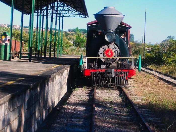 Estação Ferroviária em Atibaia