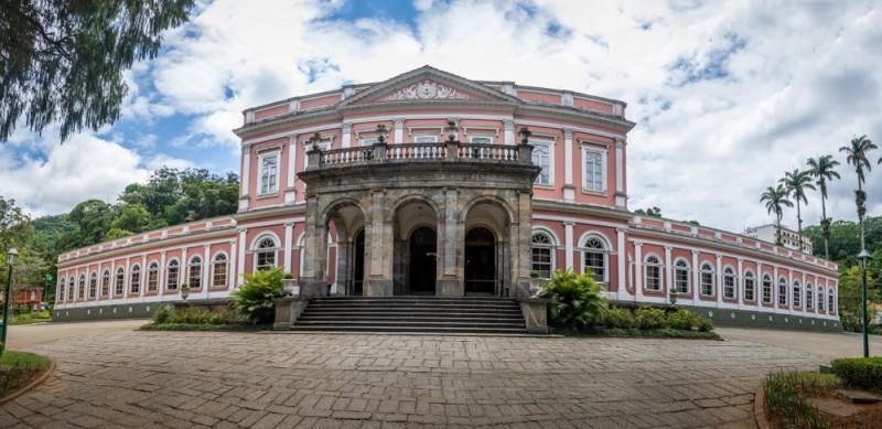 Fachada do Museu Imperial em Petrópolis