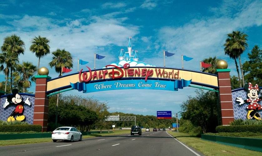 Portal do Walt Disney World em Orlando