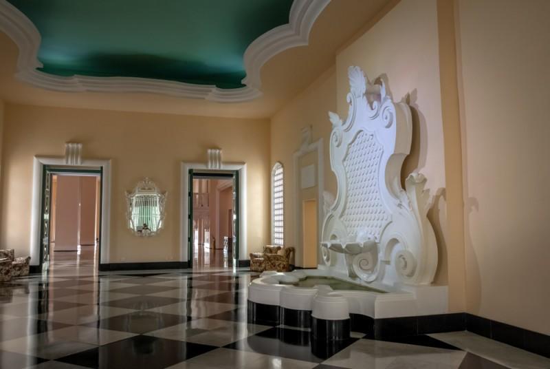 Interior do Palácio Quitandinha