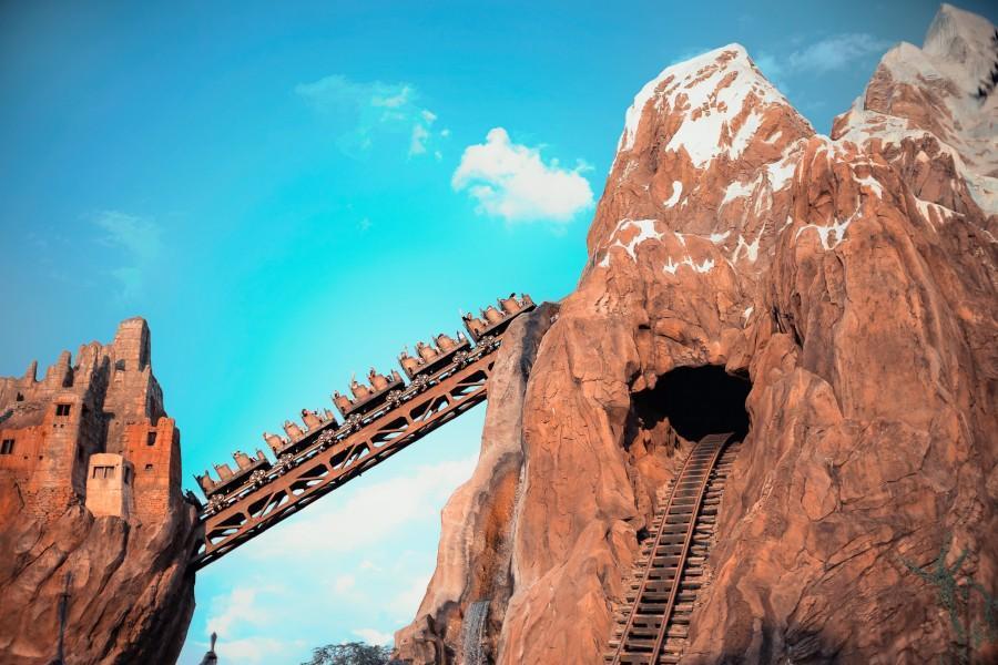 Montanha russa Monte Everest