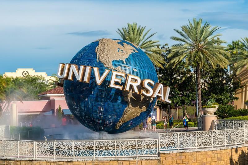 Globo da Universal Studios em Orlando