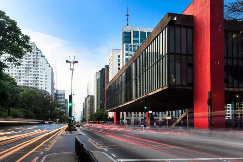 MASP e Avenida Paulista em São Paulo