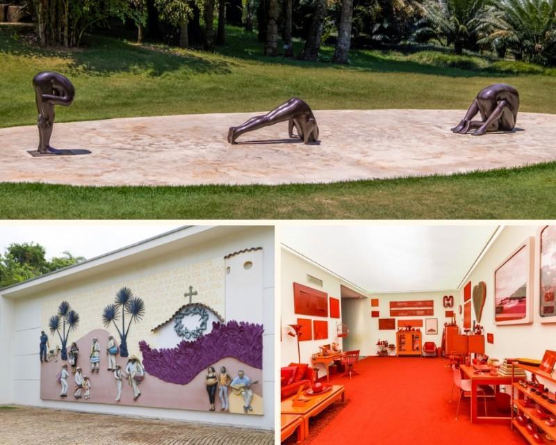 Instalações do Instituto Inhotim em Brumadinho