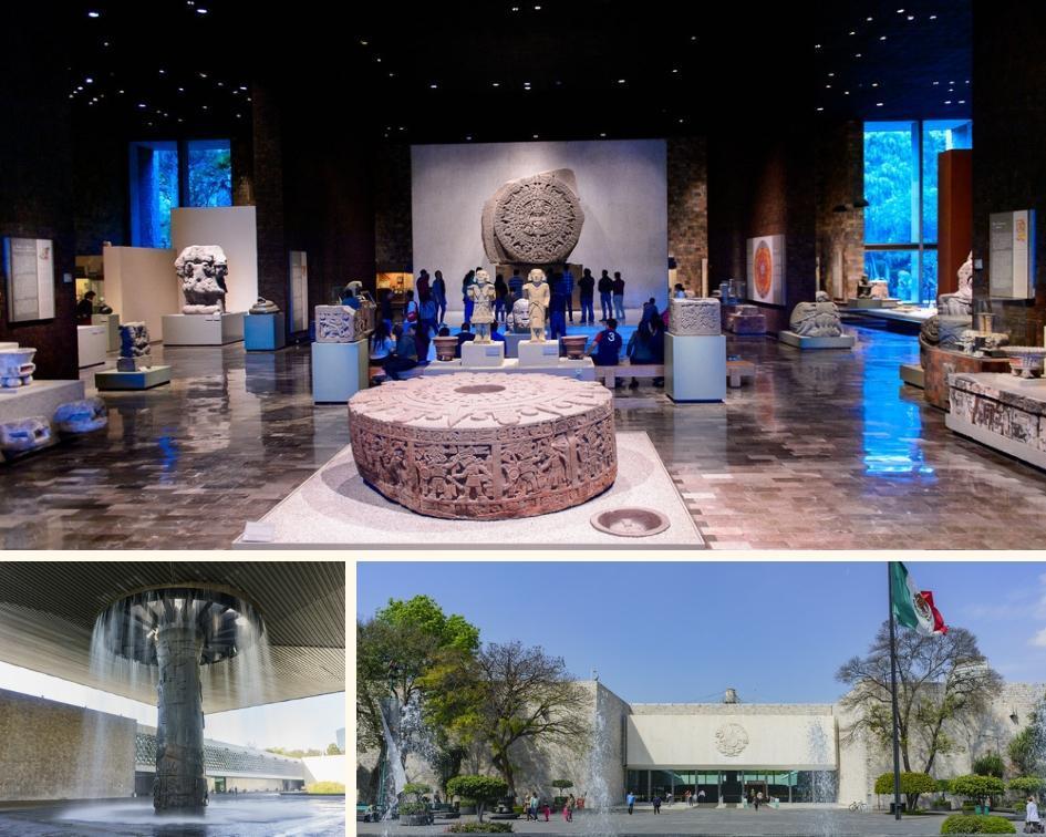 Exposições do Museu Nacional de Antropologia na Cidade do México
