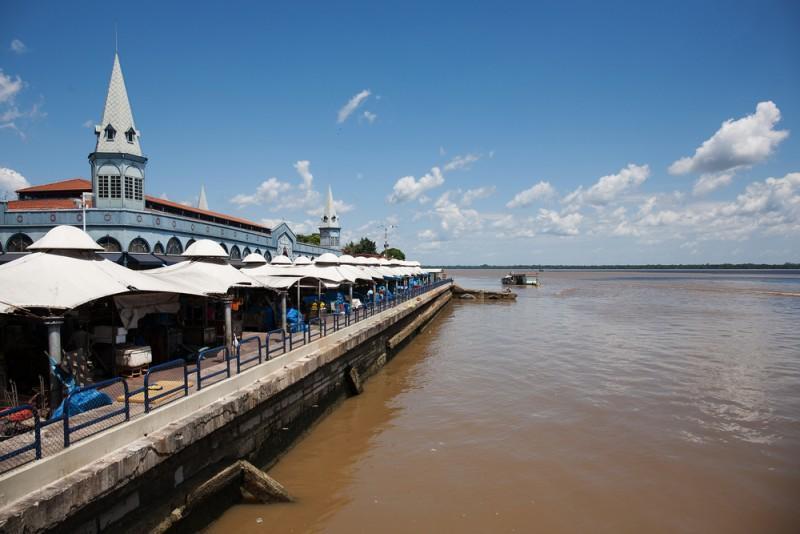 Mercado Ver-o-Peso em Belém
