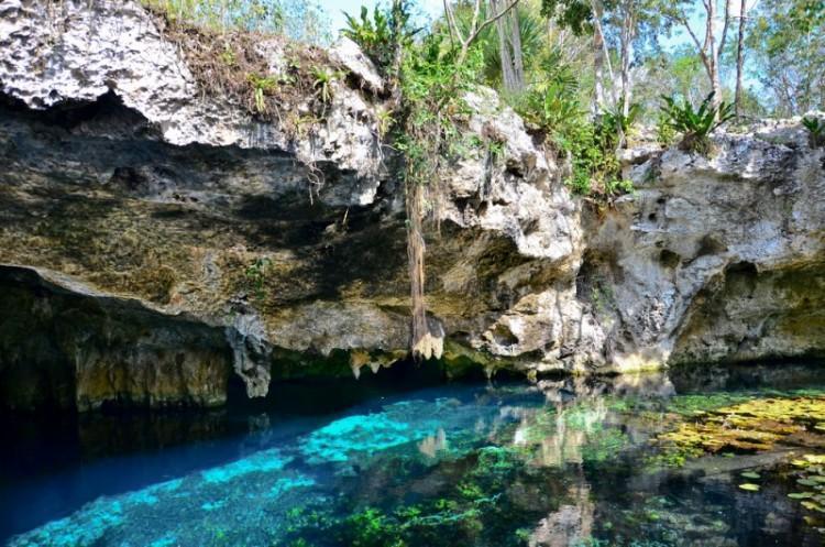 Gran Cenote em Tulum México