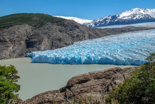 Geleiras em Glaciar Grey em Torres del Paine.