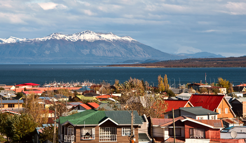 Puerto Natales, cidade do Chile.