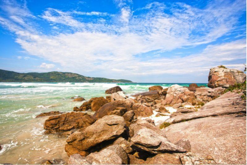 lopes mendes beach in ilha grande angra dos reis