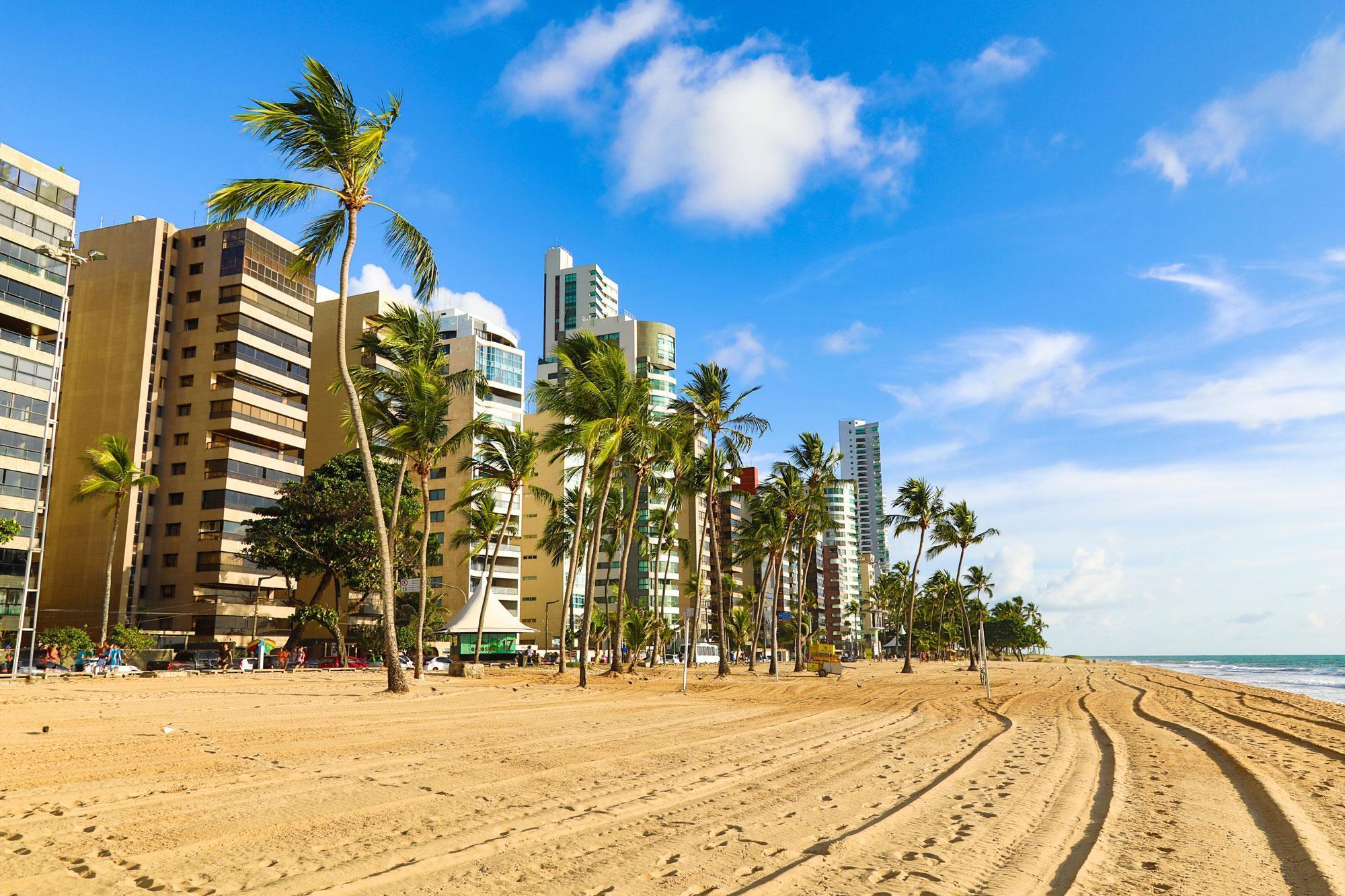 areia da praia de boa viagem