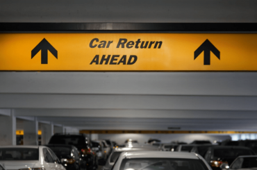 car rental airport return