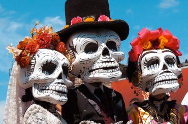 dia de muertos desfile ciudad de mexico catrinas calaveras
