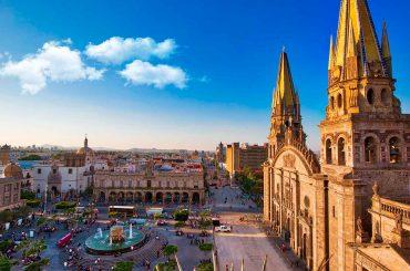 catedral de guadalajara vista aérea