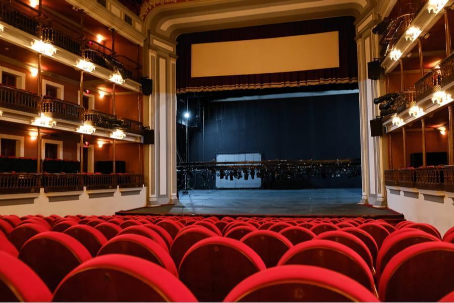 teatro angela, escenario