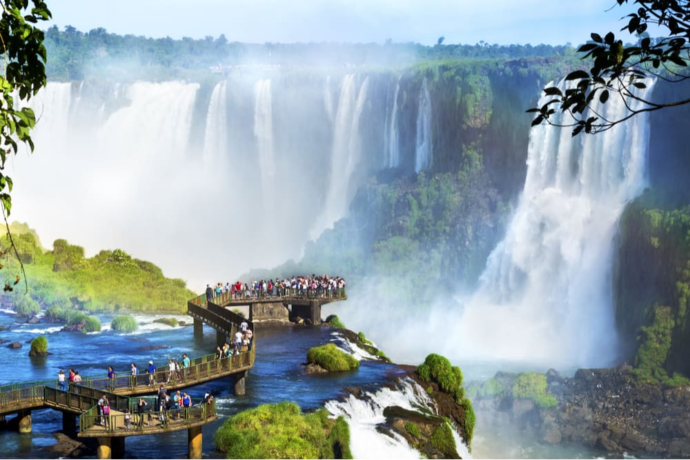 iguazu falls cataratas do iguacu brasil