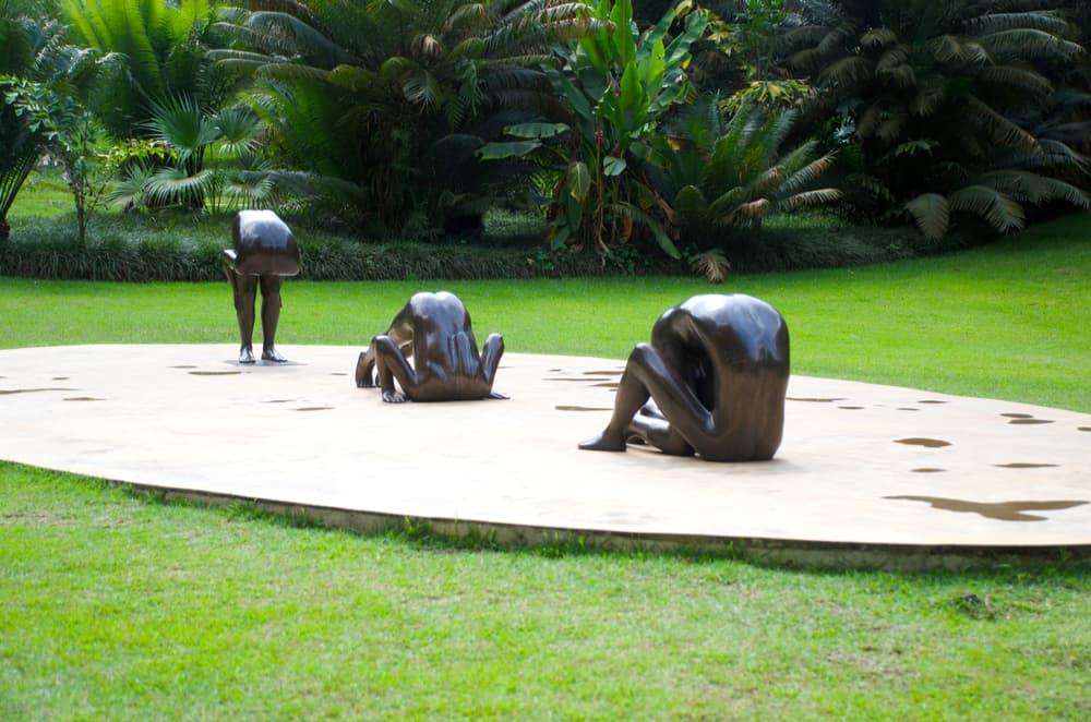 open air art exhibition in inhotim institute