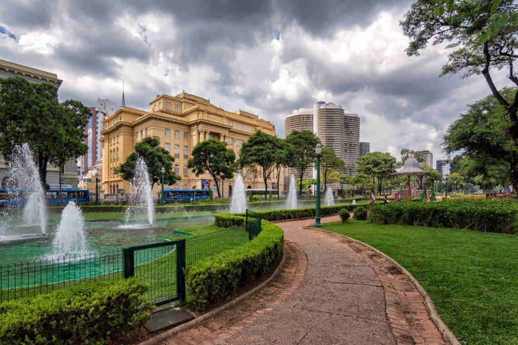 Fonte do Banco do Brasil em Minas Gerais