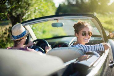 rentar auto rentcars chicas manejado auto convertible