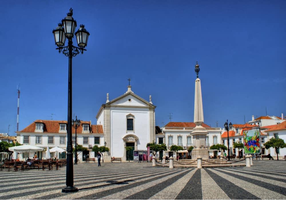 praça marquês de pombal in vila real portugal