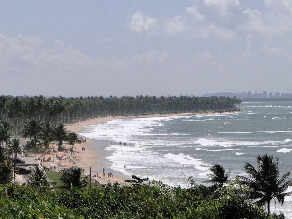 orla da praia do paiva próxima a recife
